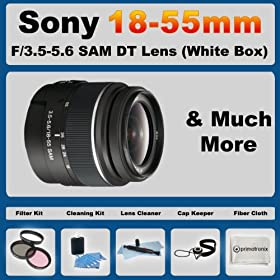 Lens Cap Side Pinch + Lens Cap Holder 72mm Nwv Direct Microfiber Cleaning Cloth For Sony Alpha DSLR-A100
