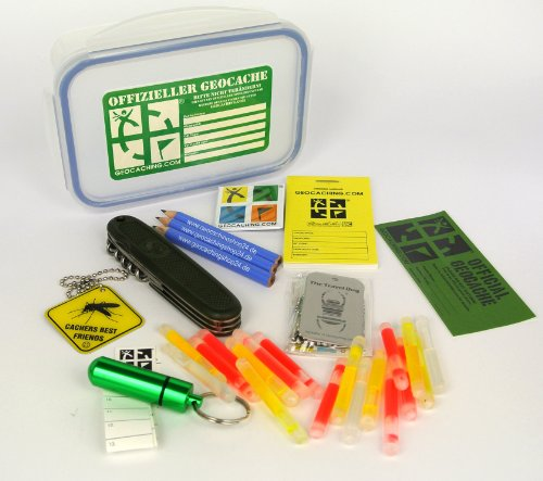 Original Offizielles Geocaching Starter Set Medium Size