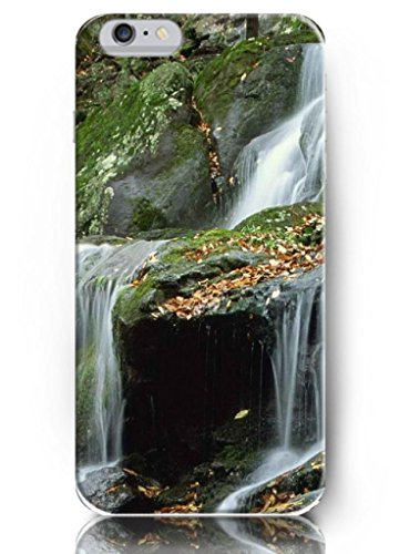 Ouo New Unique Vintage Hard Cover For 4.7 Inch Iphone 6 Case Case Moss Stones And Waterfall