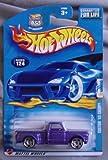 Hot Wheels 2003 Custom 69 Chevy Truck #124 Purple 1:64 Scale By Hot Wheels
