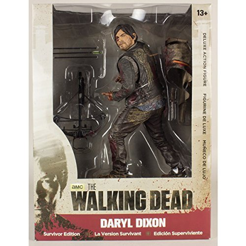 Mc Farlane - The Walking Dead, Figurina di Daryl Dixon, edizione Survivor, 25 cm, 3700936102706