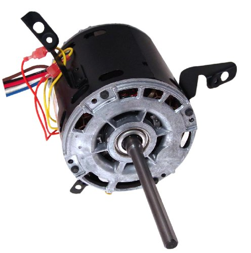 A.O. Smith 9433A 1/3 Hp, 1075 Rpm, 3 Speed, 277 Volts1.9 Amps, 48 Frame, Sleeve Bearing Direct Drive Blower Motor