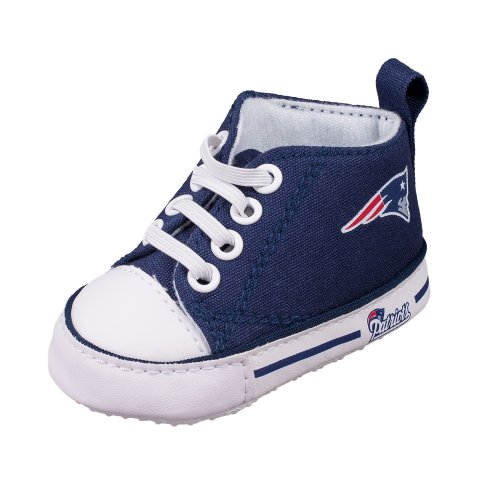 Hand Painted Converse Lo. New England from Genuine Touch ... |New England Patriots Crib Shoes