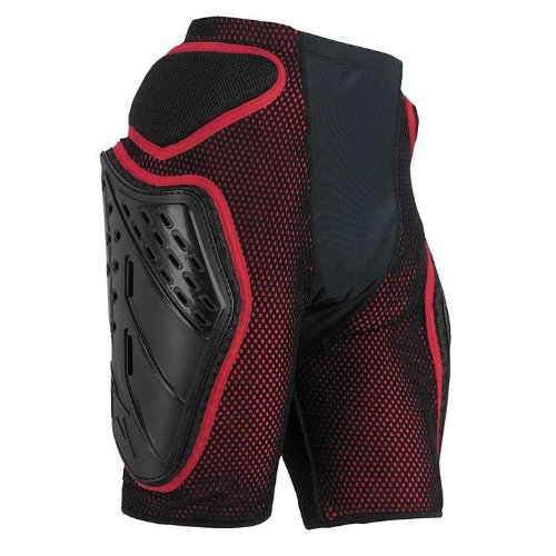 Review Of Alpinestars Bionic Freeride Shorts (Black/Red, Large)
