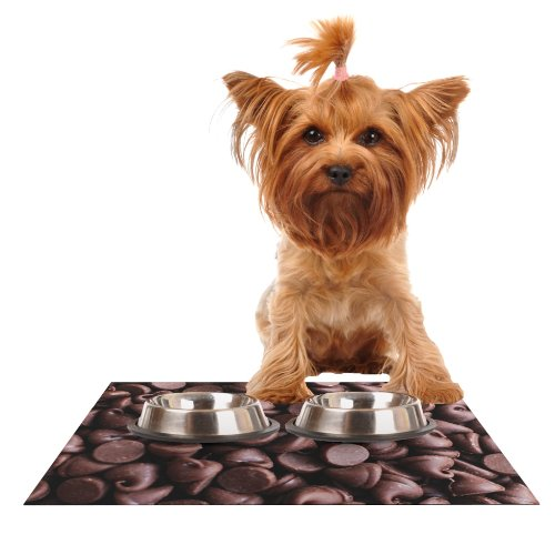 kess-inhouse-libertad-leal-yay-chocolate-candy-feeding-mat-for-pet-bowl-18-by-13-inch