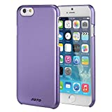 "JOTO iPhone 6 4.7 Case - Slim Thin Fit Hard Cover Case Exclusive for Apple iPhone 6 4.7"" (2014), Premium Metal effect coating hard case for iPhone 6 (Purple)"