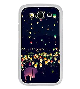 Night Lamps in Sky 2D Hard Polycarbonate Designer Back Case Cover for Samsung Galaxy Grand I9082 :: Samsung Galaxy Grand Z I9082Z