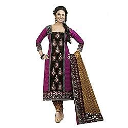 Stylish Girls Multi Cotton Dress Materials
