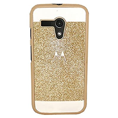 Moto G Case, SILVERBACK GLITZ Slim-Fit Case for Motorola Moto G (1st Gen) - Glitter Design by Silverback inc