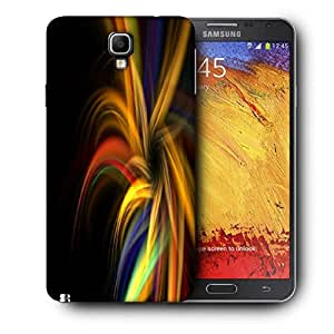 Snoogg Abstract Colorful Pattern Printed Protective Phone Back Case Cover For Samsung Galaxy NOTE 3 NEO / Note III