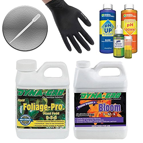 dyna-gro-2-pack-8-oz-bundle-bloom-foliage-pro-ph-control-test-kit-thcity-gloves-pipette