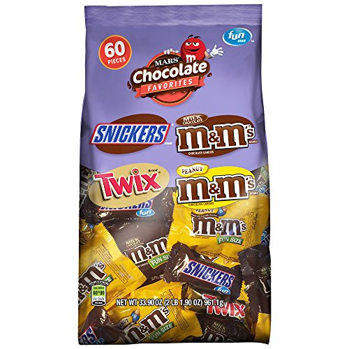 MARS Chocolate Favorites Fun Size Candy Bars Variety Mix 33.9-Ounce 60-Piece Bag (Chocolate And Candy compare prices)