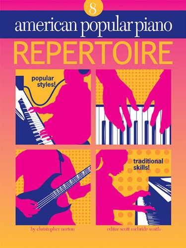 American Popular Piano - Repertoire: Repertoire Level 8