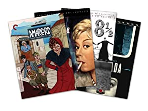 Criterion Collection Director Series - Federico Fellini (8 1/2 / La Strada / Nights Of Cabiria / Amarcord) - Amazon.com Exclusive