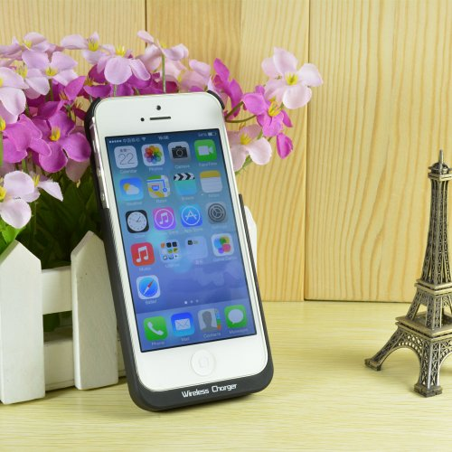Best Price eZone Wireless Charger Qi Receiver Protective Case Cover for Apple iPhone 5/iPhone 5S