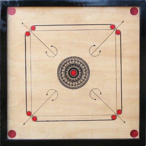 CLASSIC 82 cm Standard Carrom Board Set