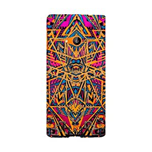 Digi Fashion Designer Back Cover with direct 3D sublimation printing for Microsoft Lumia 535