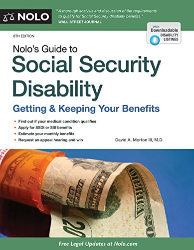 Nolo's Guide to Social Security Disability: Getting & Keeping Your Benefits (Social Security Law compare prices)