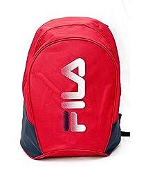 Fila Unisex Red Bradley Backpack