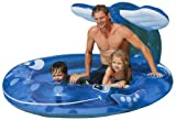 Pool Slides:Intex blow up Whale squirt Pool