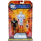 DC Universe Justice League Unlimited - Green Lantern, Captain Atom and Super ...