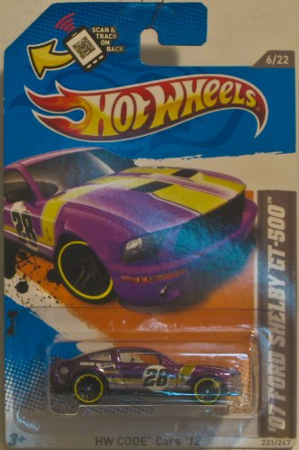 Hot Wheels '07 Ford Shelby GT500 - 1