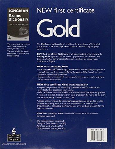 New first certificate gold exam maximiser. With key. Con CD Audio. Per le Scuole superiori