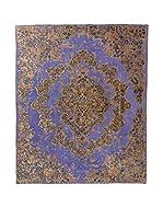 CarpeTrade Alfombra Deluxe Persian Vintage (Morado/Marrón)