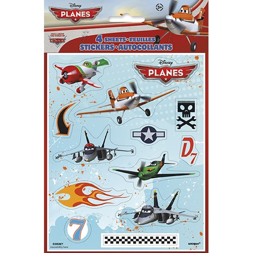 Disney Planes Stickers [4 Sheets Per Pack] - 1