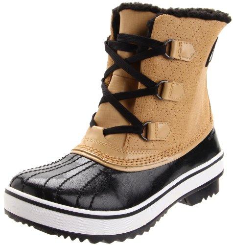 Sorel Tivoli Snowboot (Little Kid/Big Kid),Curry/Black,1 M US Little Kid