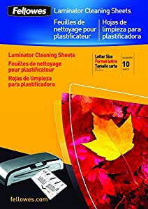 Fellowes Lam A4 Carrier/Cleaning Sht Pack of 10