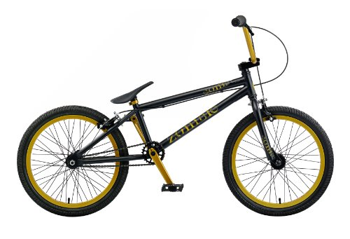 Zombie Comp Boys Bmx Bike - Black 20-inch