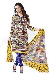 Balaji Fashion Women's fancy print cottan suit-D.NO 1004