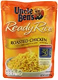 Uncle Ben's Ready Rice, Roasted Chicken Flavored, 8.8-Ounce Bags (Pack of 12)
