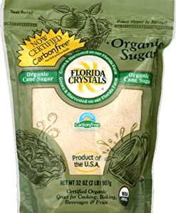 FLORIDA CRYSTAL POLY BAG ORGANIC CANE SUGAR 6/2 lbs