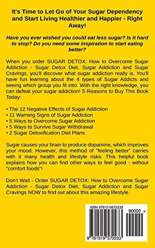 Sugar Detox: How To Overcome Sugar Addiction - Sugar Detox Diet, Sugar Addiction & Sugar Cravings