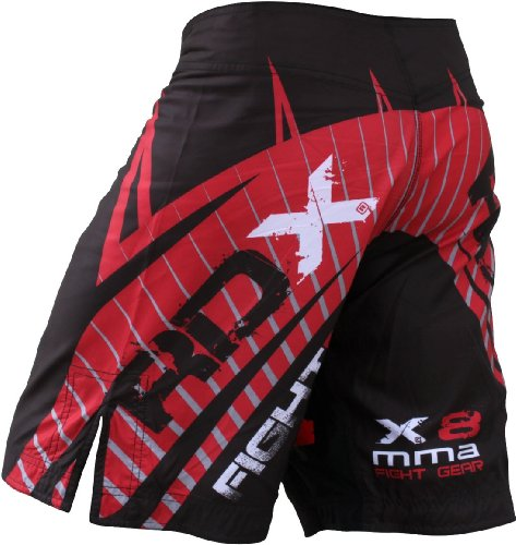RDX Gel Fight Shorts UFC MMA Grappling Short Boxing NHB, 4XL (41