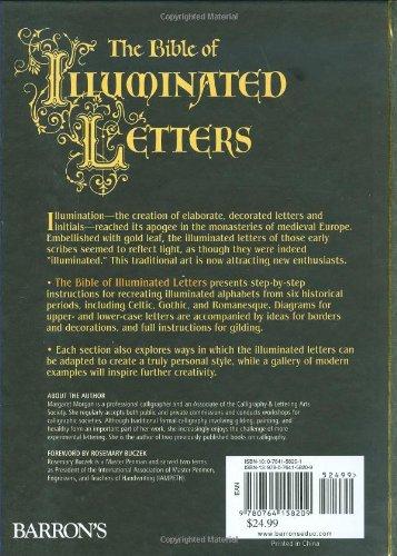 The Bible of Illuminated Letters: A Treasury of Decorative Calligraphy (Quarto Book)