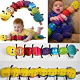 1x Popular and Colorful Musical Inchworm Soft Lovely Developmental Baby Toy Gift