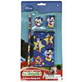 Disney Mickey & Minnie 4pk Study kit on Blister Card - Pencil, Pencil Sharpener, Eraser, Memo Pads
