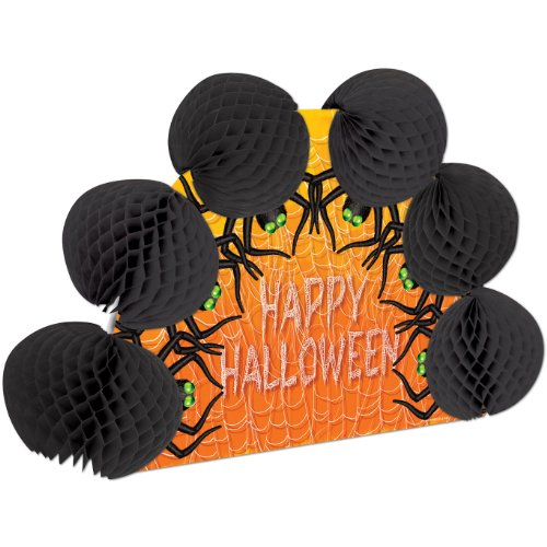Halloween Spiders Pop-Over Centerpiece Party Accessory (1 count) (1/Pkg)