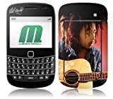 MusicSkins Bob Marley Guitar Skin for BlackBerry Bold (9900/9300)