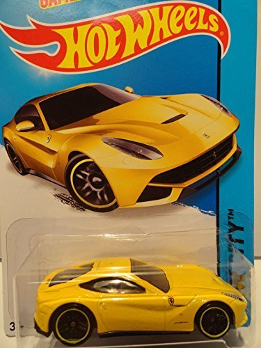 Hot Wheels Ferrari F12Berlinetta (Yellow) (31/250)
