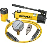 Enerpac SCH-121H Single Acting Cylinder Pump Set RCH-121 Cylinder with P-142 Hand Pump