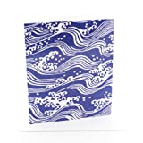 V&A Waves Single Greeting Card
