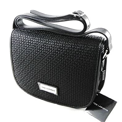 "Sac bandoulière ""Ted lapidus"" noir: Handbags: Amazon.com"