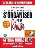 S'organiser pour réussir (z) - Audiolivre - 3CD audio