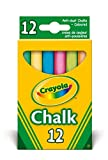 Crayola - Anti Dust Assorted Chalk(PACK OF 2)