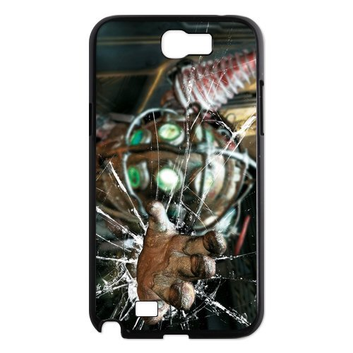Popular PC game bioshock colorful robet hand design hard plastic case for Samsung Galaxy Note 2 N7100