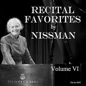 V 6: Recital Favorites By Niss